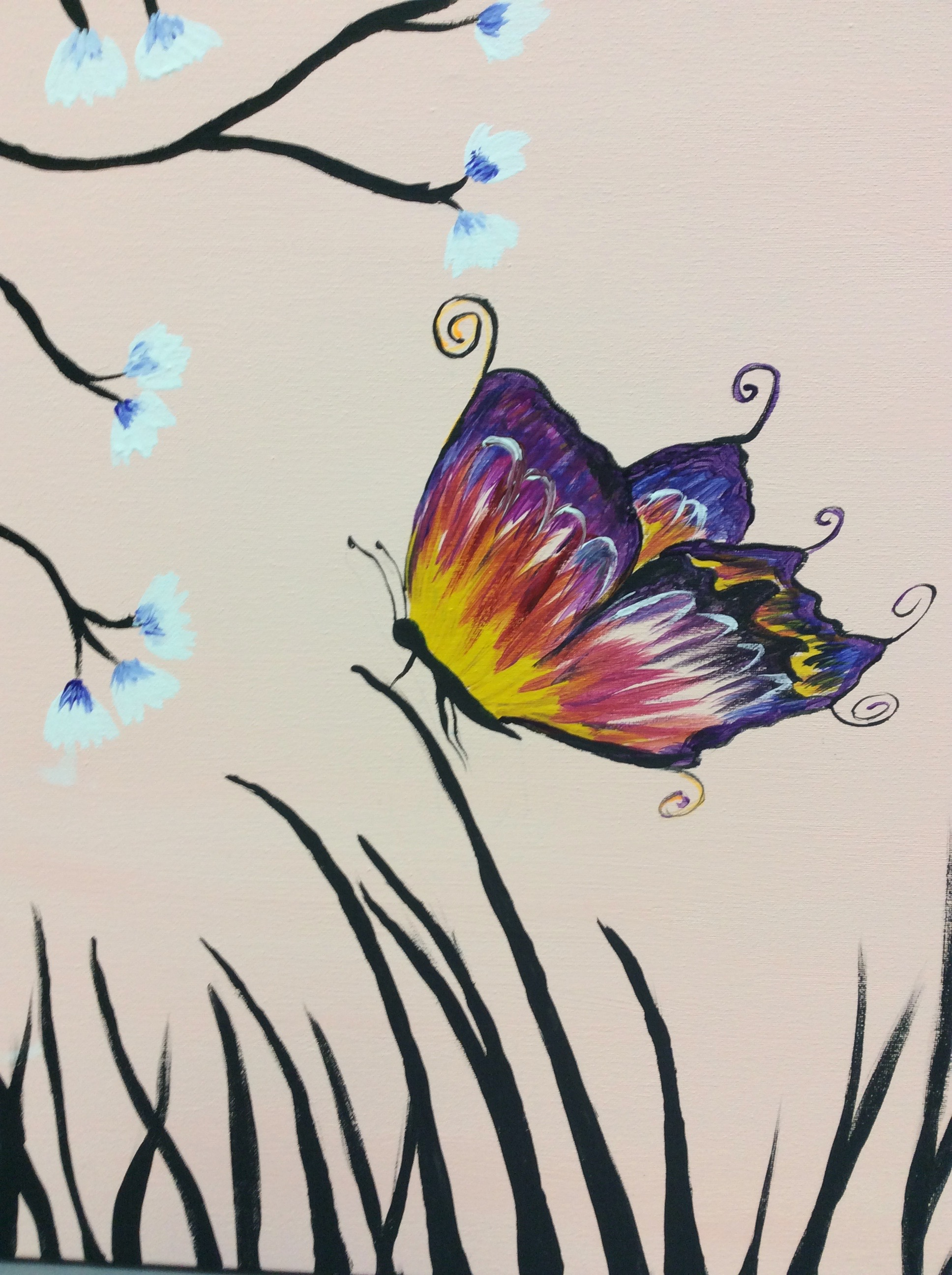 Peaceful Butterfly