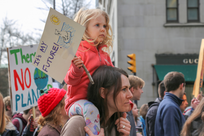 BC - In Victoria, Kelowna, Vancouver, and across the lower mainland, hundreds and thousands of youth came out to march. In BC, high school organizers have continued the momentum by actively pressuring regional councils to declare a climate emergency.