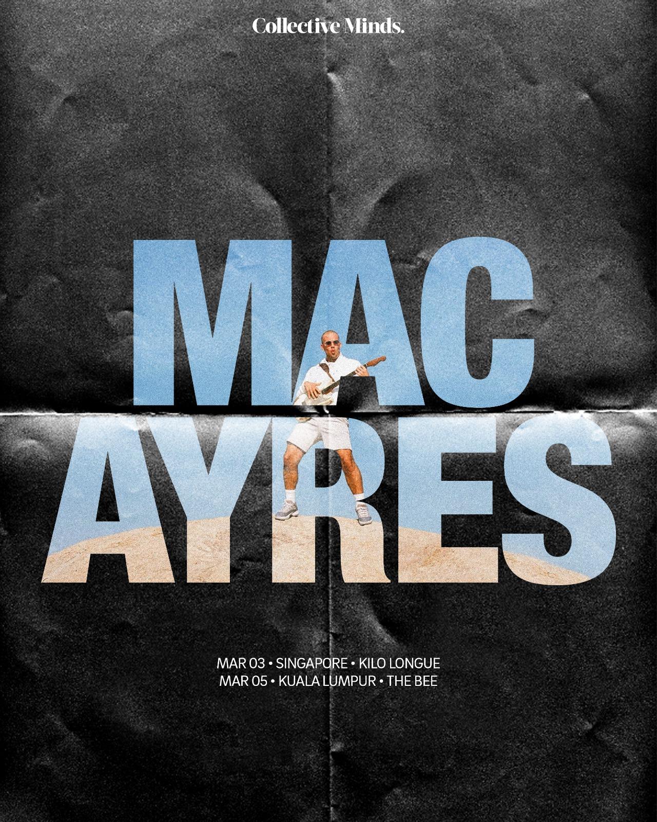 Mac Ayres SG/KL Tour