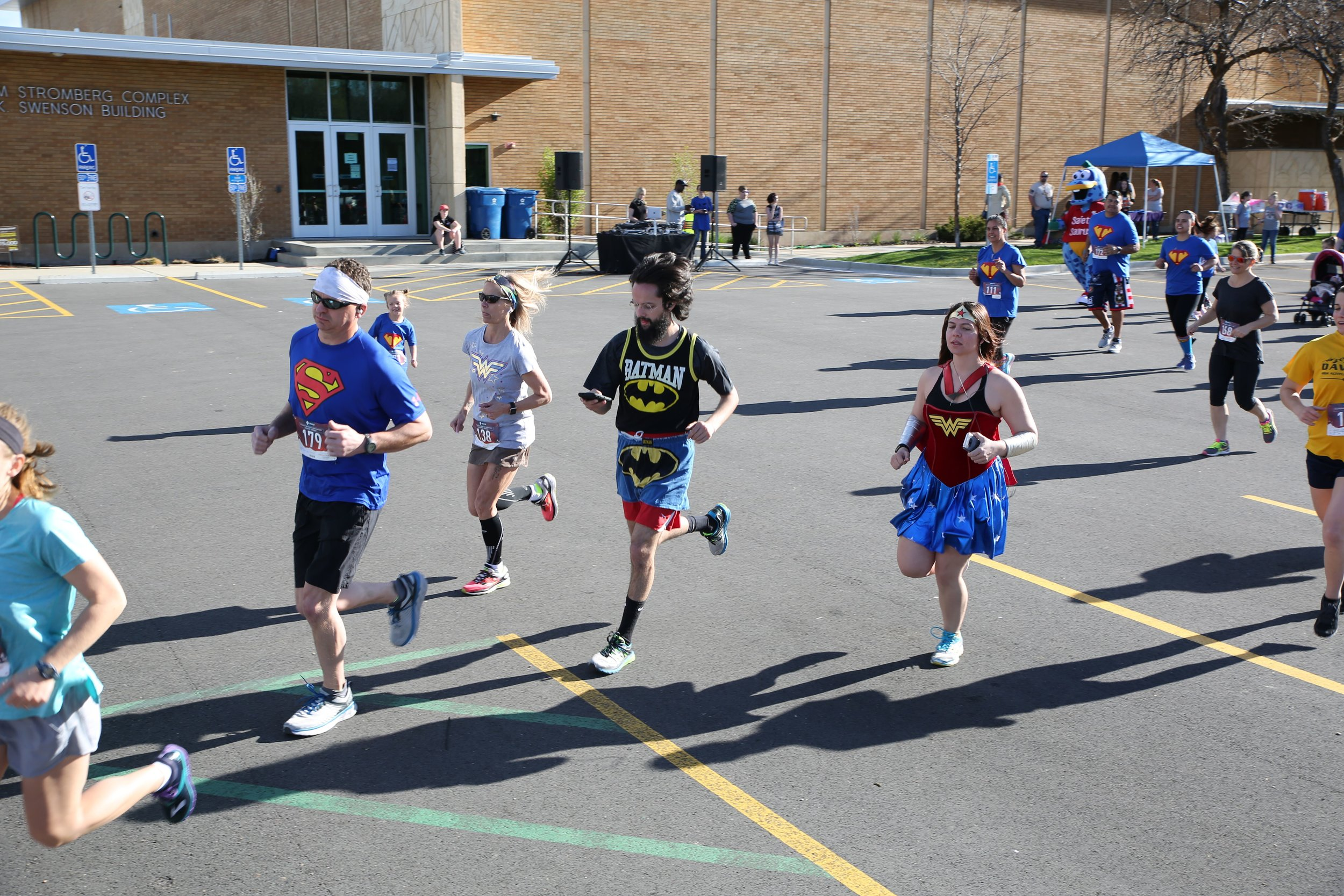 Superhero hop 5k and kids run - April 20, 20199:00 a.m.A fundraiser to benefit Prevent Child Abuse Utah. Superhero themed!