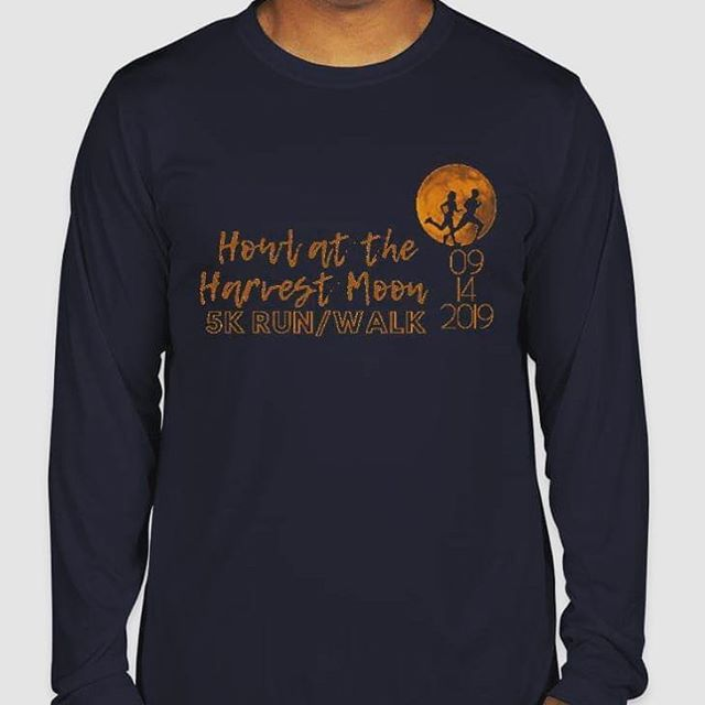 Last day to order a race t-shirt! Use the registration link in bio. Only $10 - we are going with long sleeve performance shirts in time for fall weather. Yay! 🤗🍁