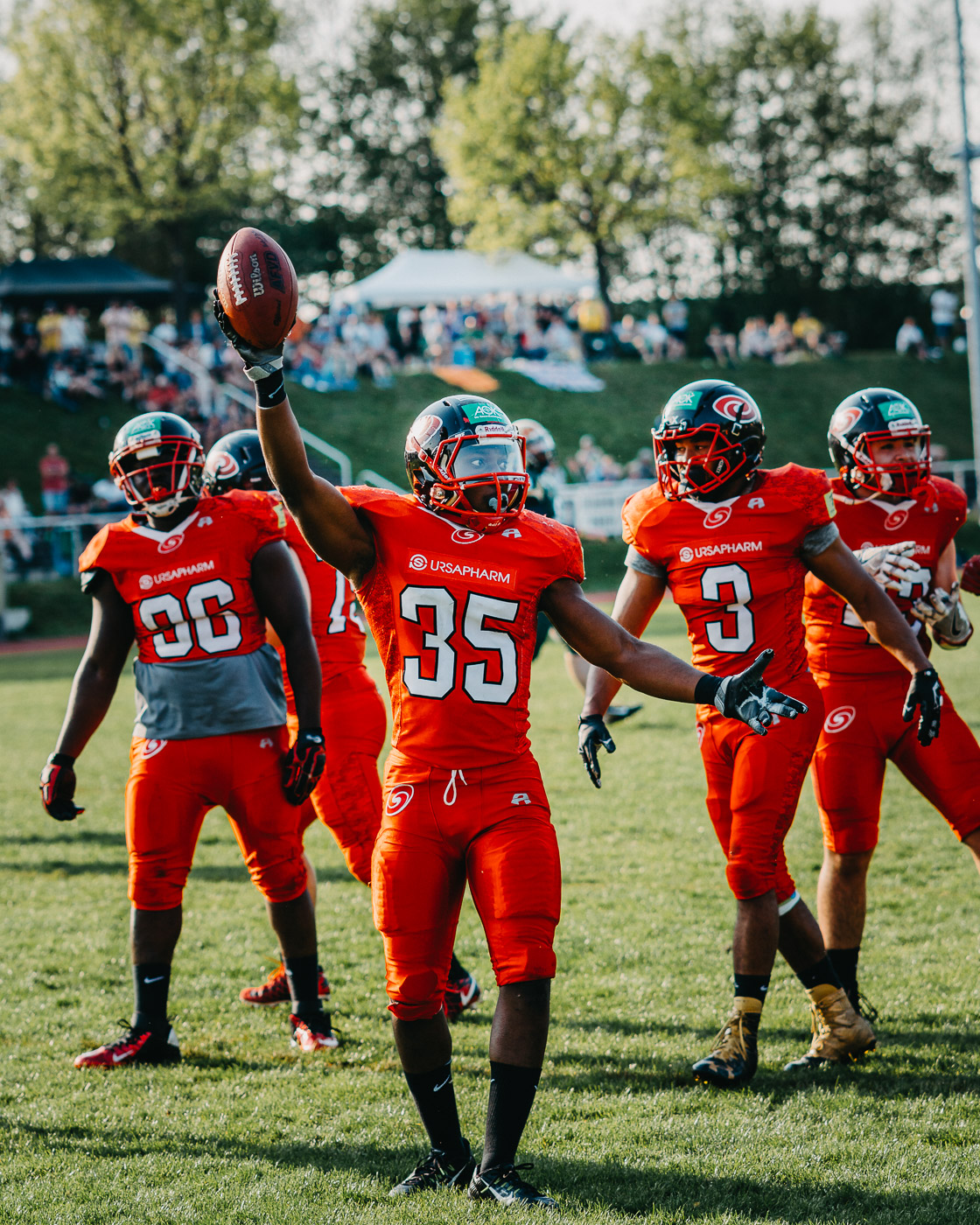 Football ~ Fighting Farmers Montabaur vs Saarland Hurricanes ~ GFL2 ~  21.04.2018