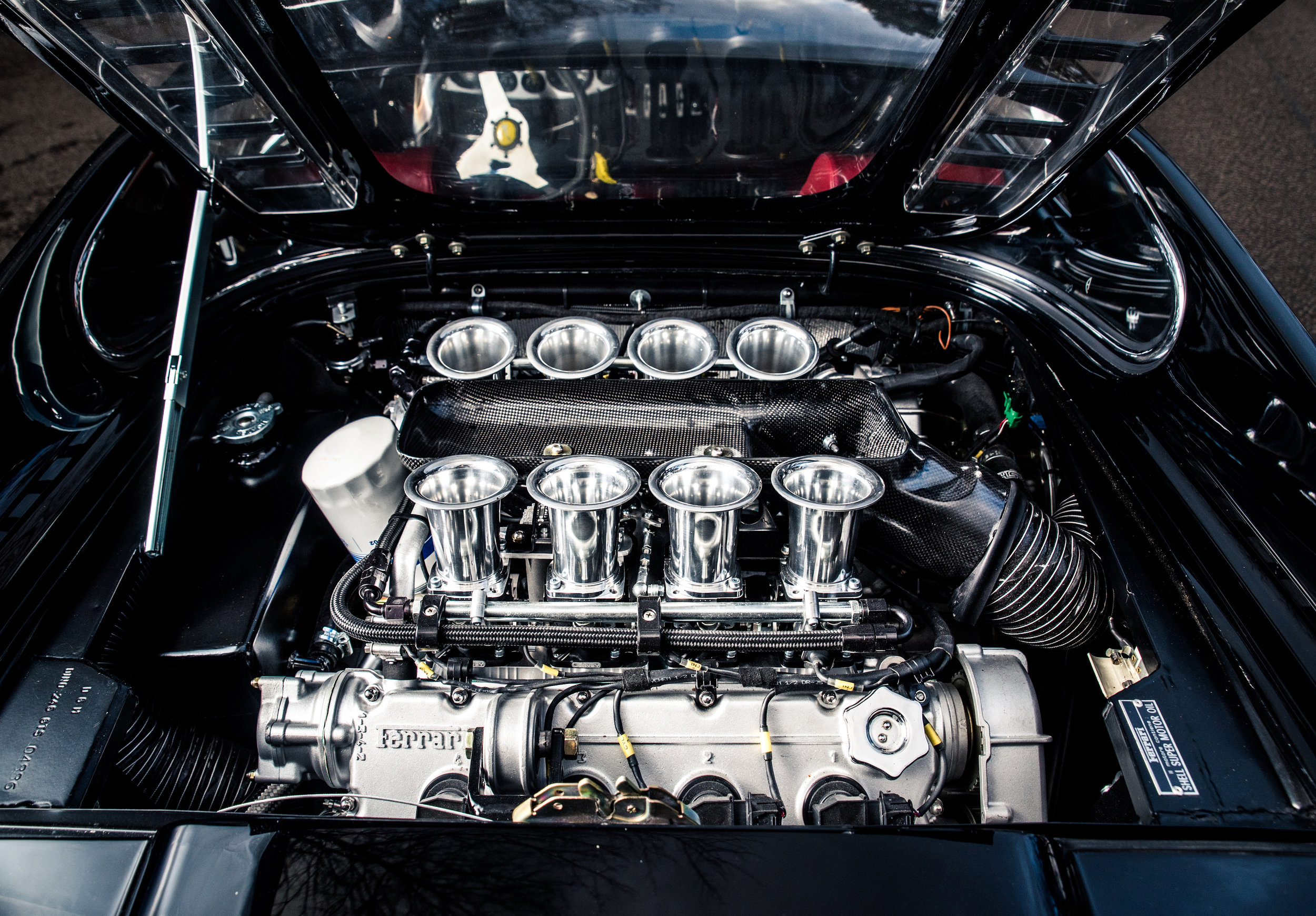 Ferrari V8 Engine 3.6 litres with MOTEC ECU producing 400BHP     Learn More