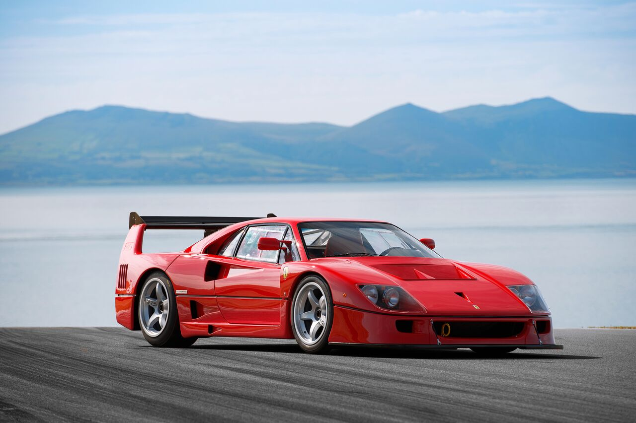 Ferrari F40LM / GTE Ground-up restoration and engine upgrade to 720+ bhp by MOTO TECHNIQUE  Photo by   DEAN SMITH     for   EVO MAGAZINE