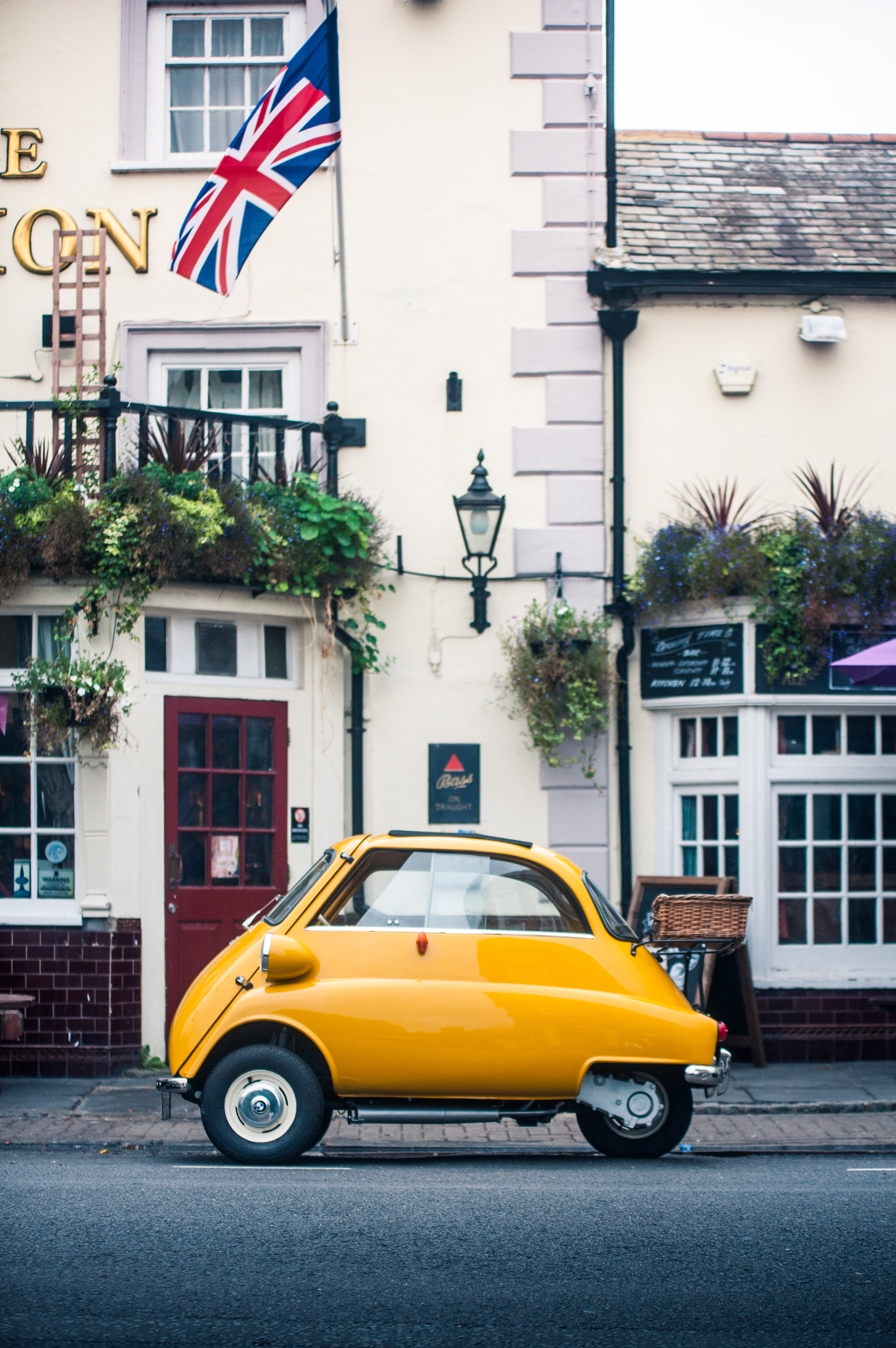 The small but beautiful BMW Isetta 300