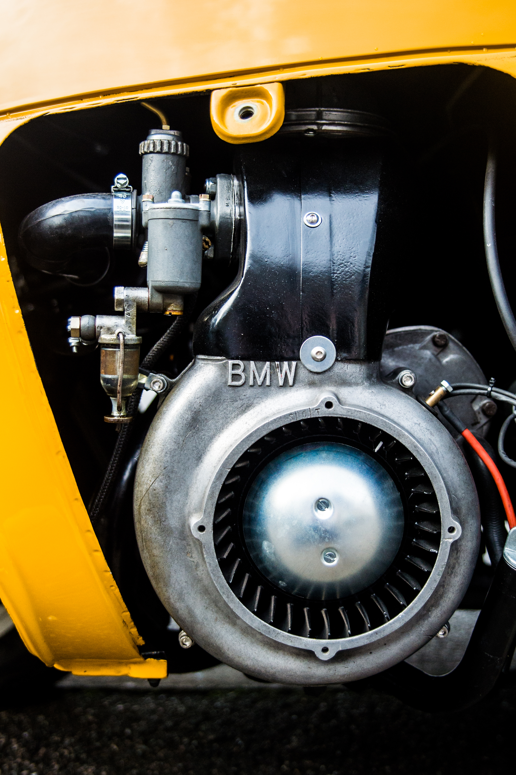 BMW Single cylinder 298cc 13hp engine re-built to original specification by Moto Technique.