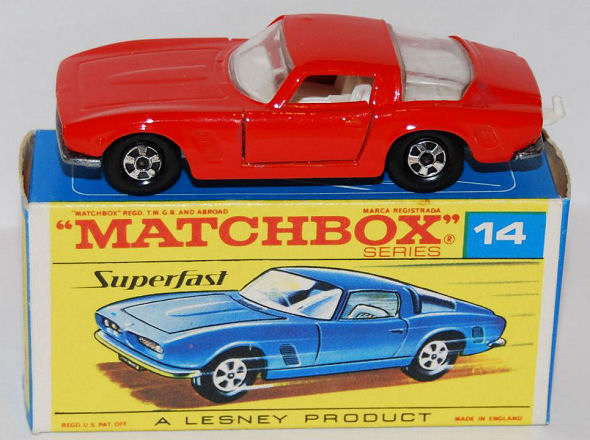 Iso Grifo toy car by Matchbox