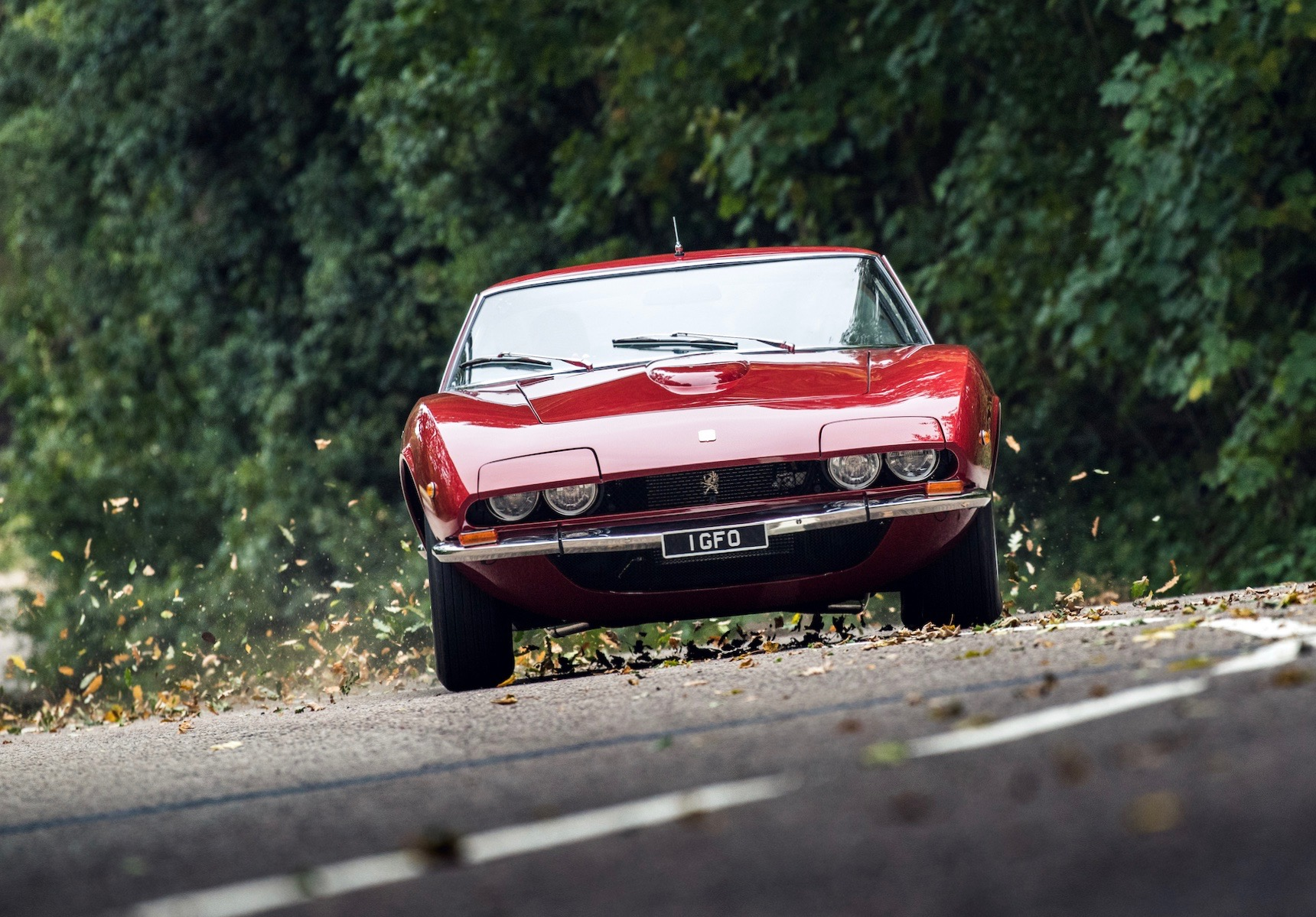 Iso Grifo MK2 Total restoration with engine and handling upgrades.  Photo by       JAYSON FONG