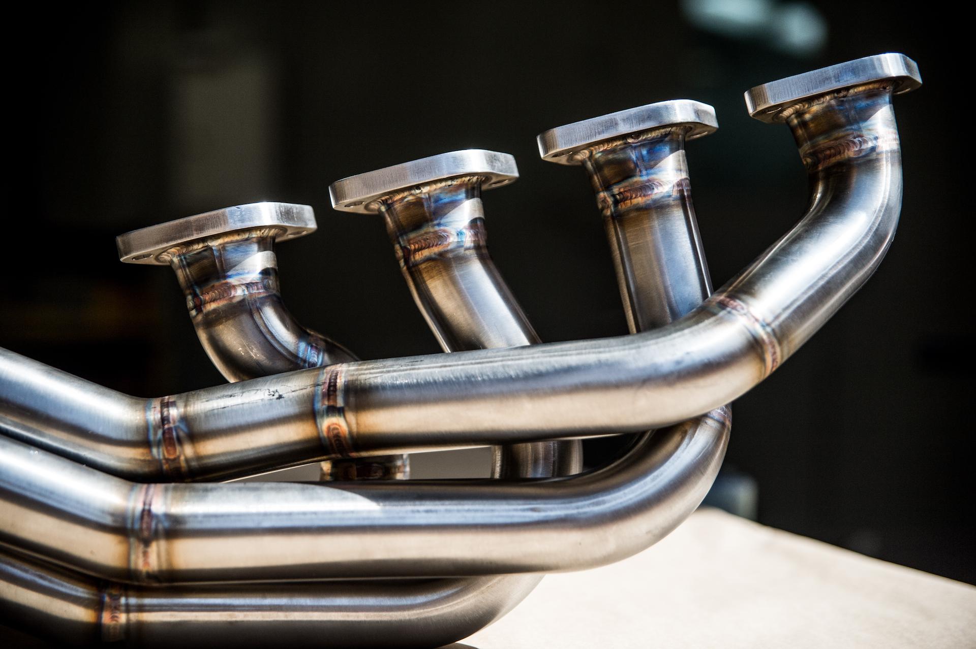 Custom made high performance manifold.