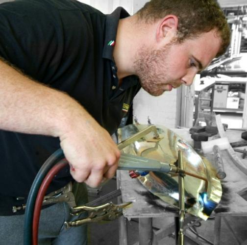 13Ferrrai bodywork repairs.JPG