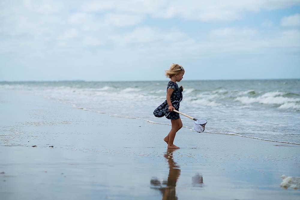 foto's op het strand