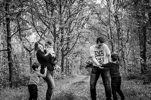 gezinsfotograaf fotoshoot