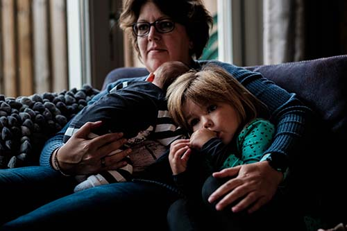 gezinsfotografie thuis