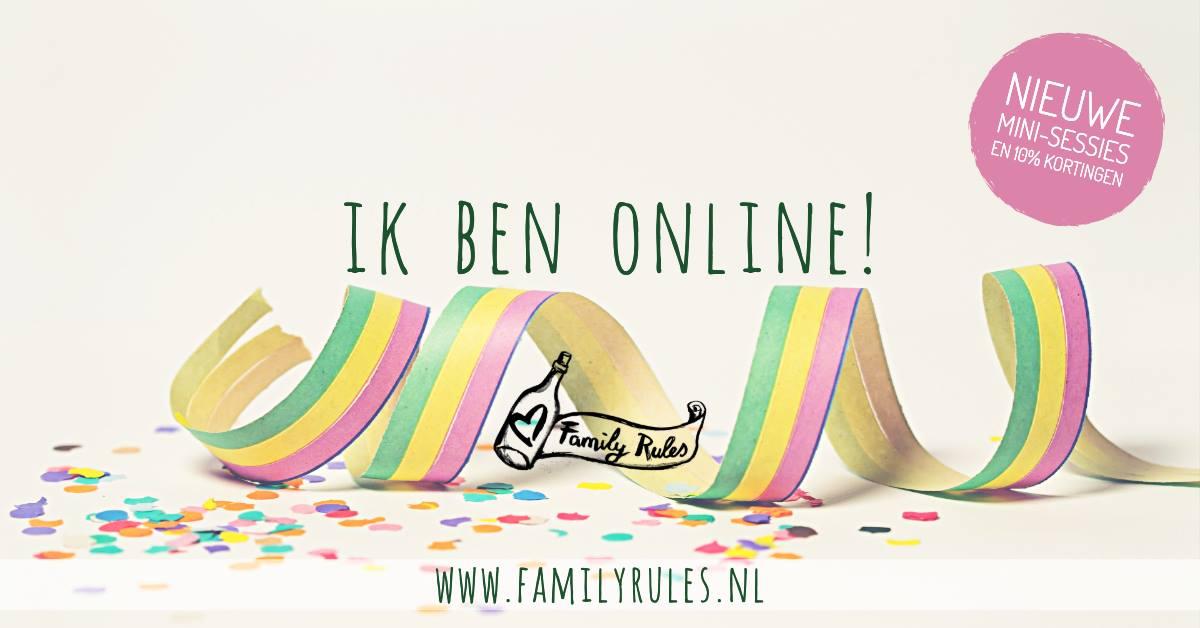 Nieuwe website!! gezinsfotograaf