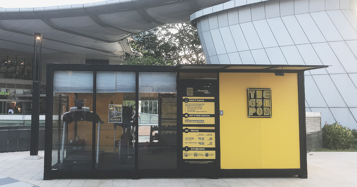 The Gym Pod located at Changi City Point!