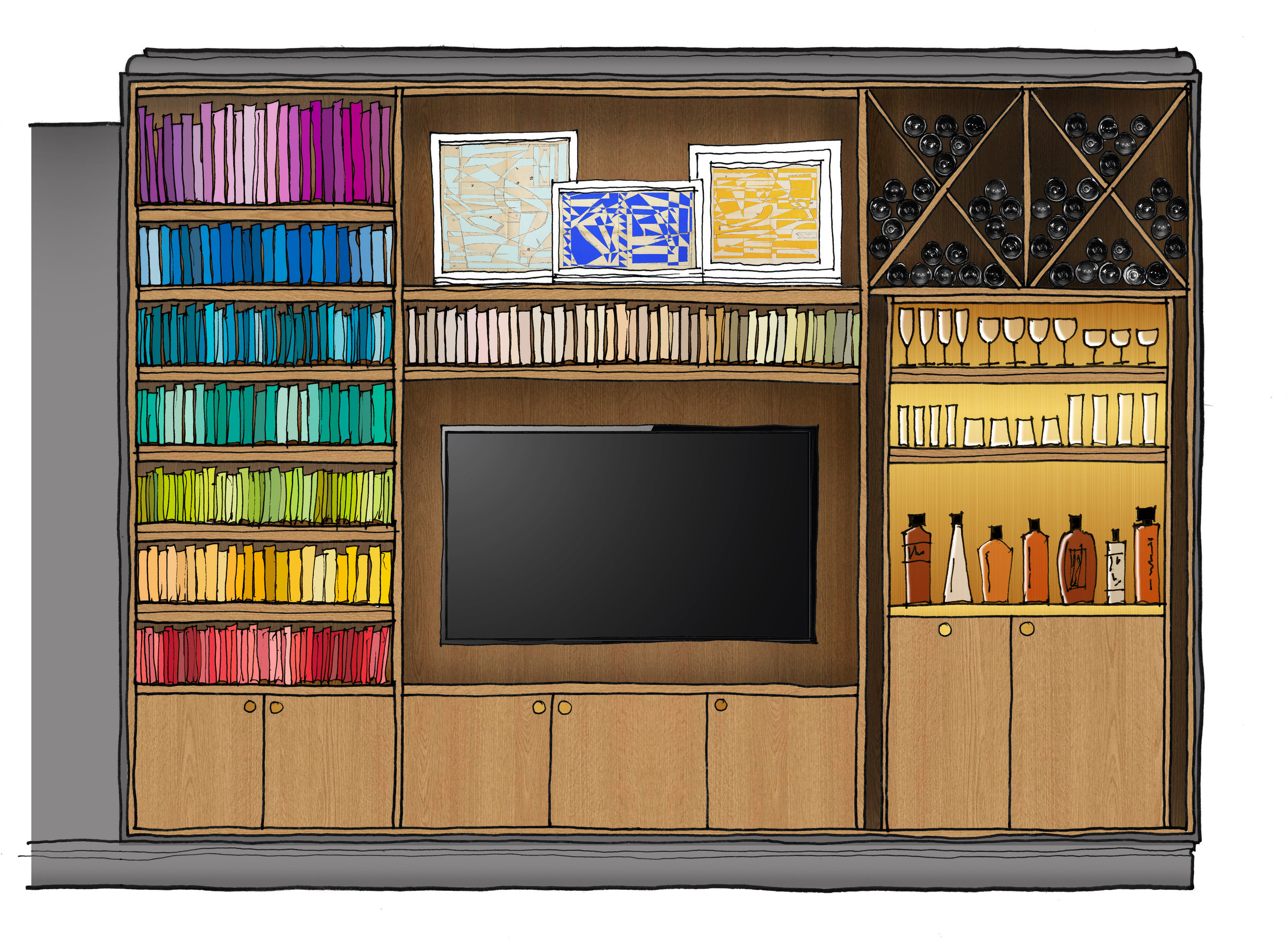 02-hillgate-place-victorian-townhouse-renovation-bookcase-drinks-cabinet-concept-elevation-sketch-drawing-tv-unit-interior-design-architecture-notting-hill-west-london-uk-rider-stirland-architects.jpg