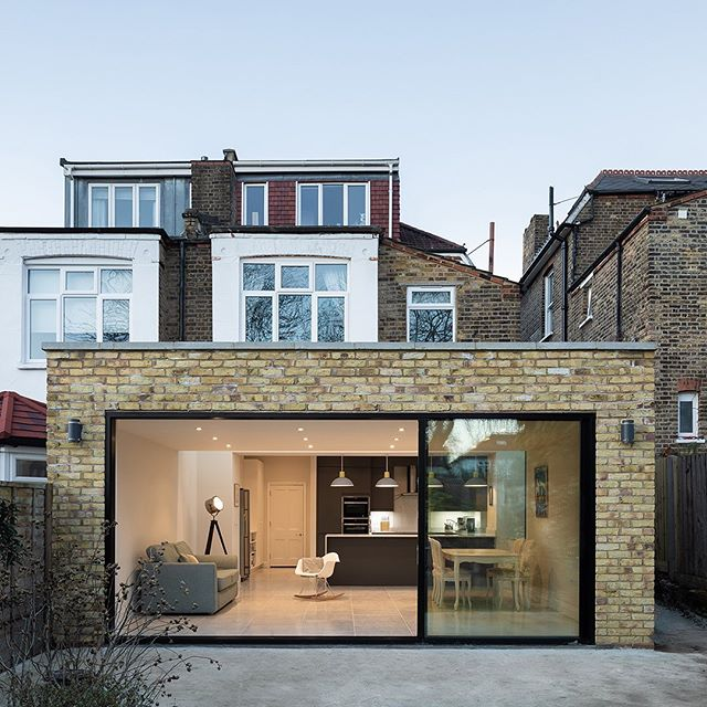 Exterior shot of our recent project in Forest Hill, London. . 📸 Captured by @adamscottimages . #riderstirlandarchitects