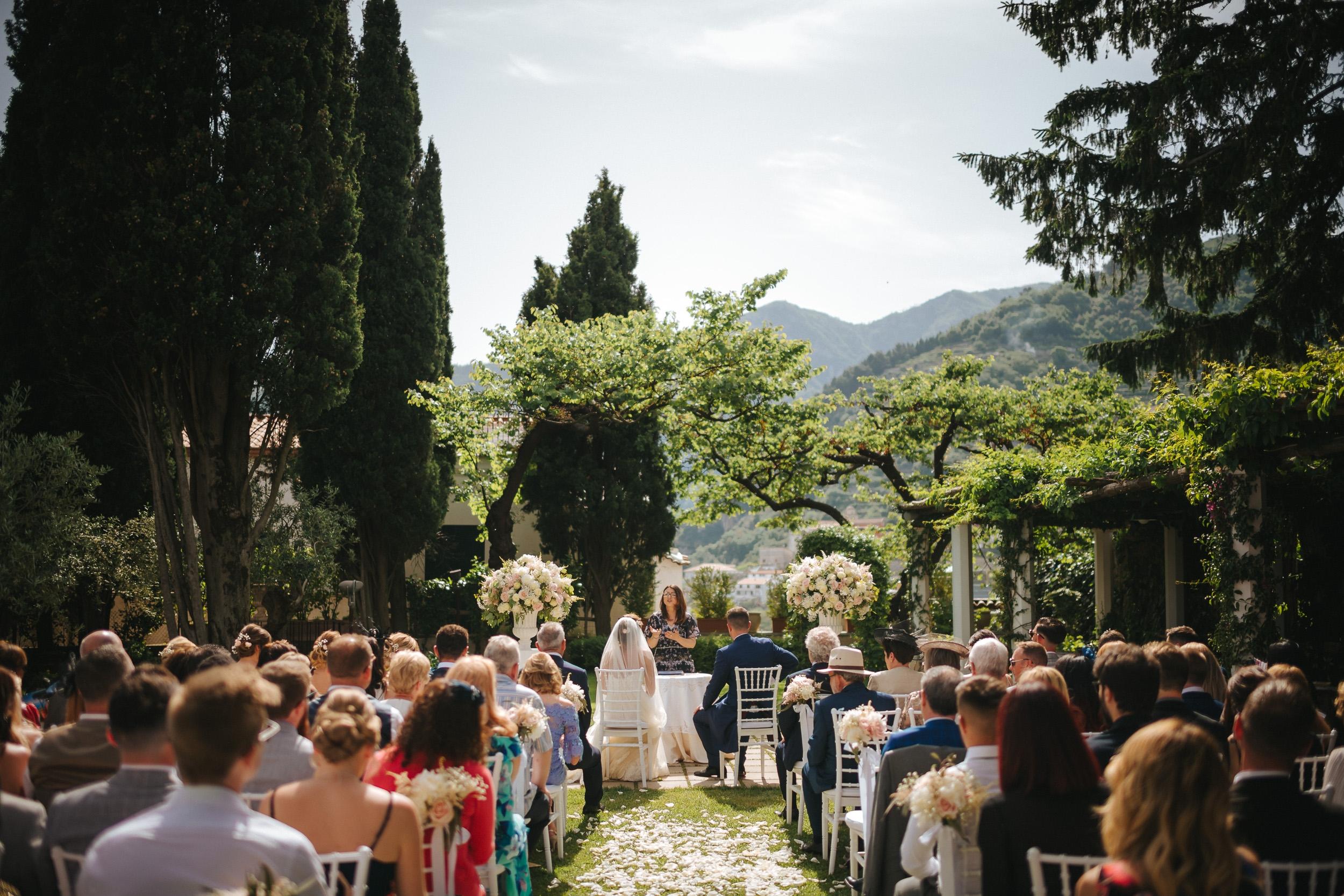 Symbolic Ceremony, Villa Eva, Ravello