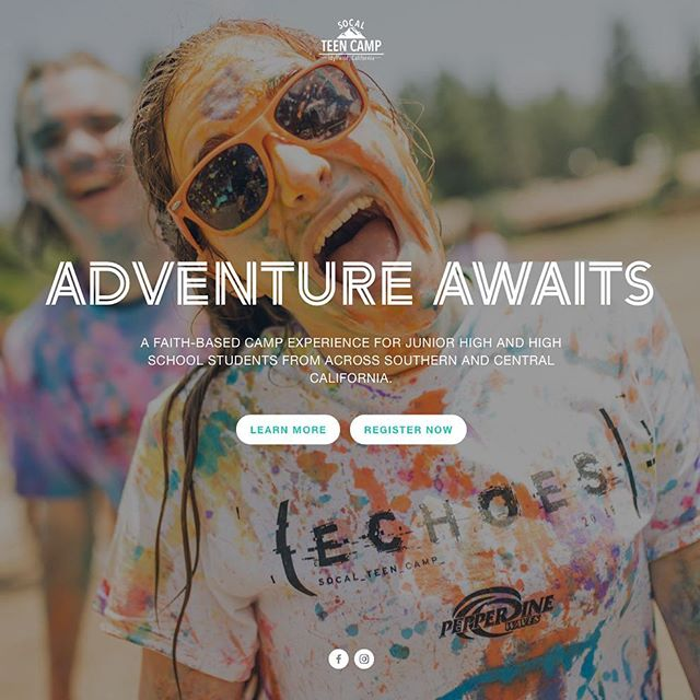 Check out the BRAND NEW website for SoCal Teen Camp! Registration begins March 31st.