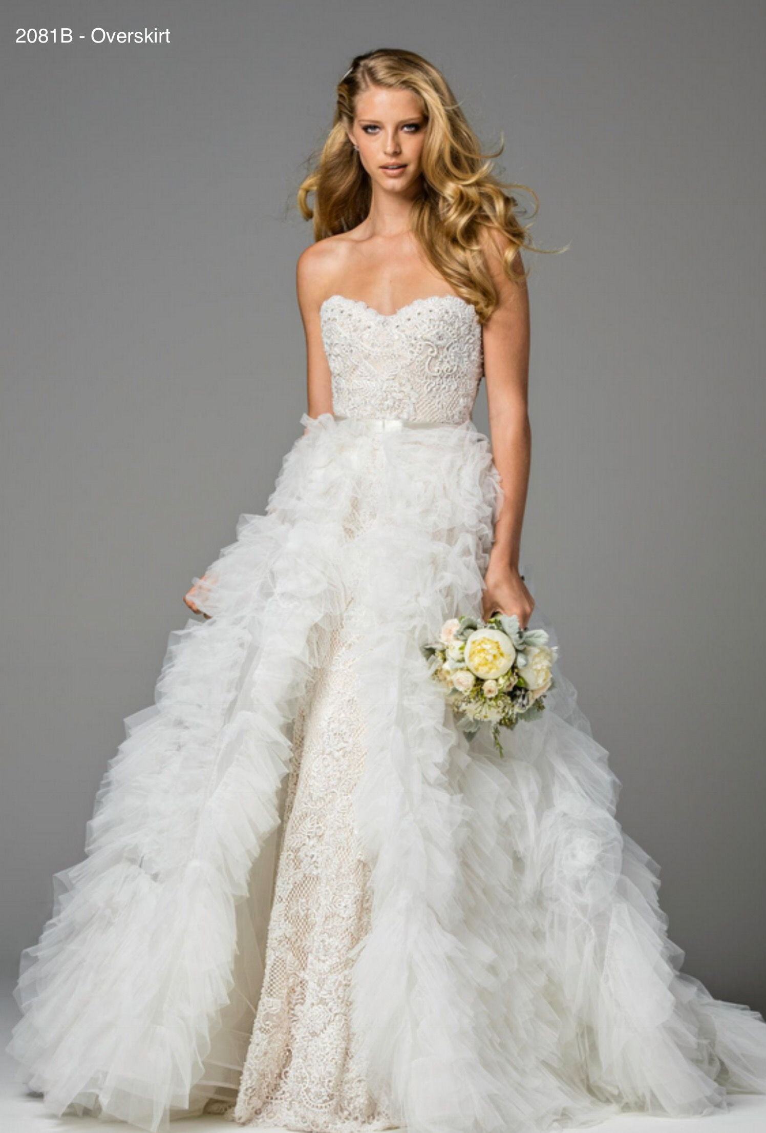 Style 2081B - Overskirt only