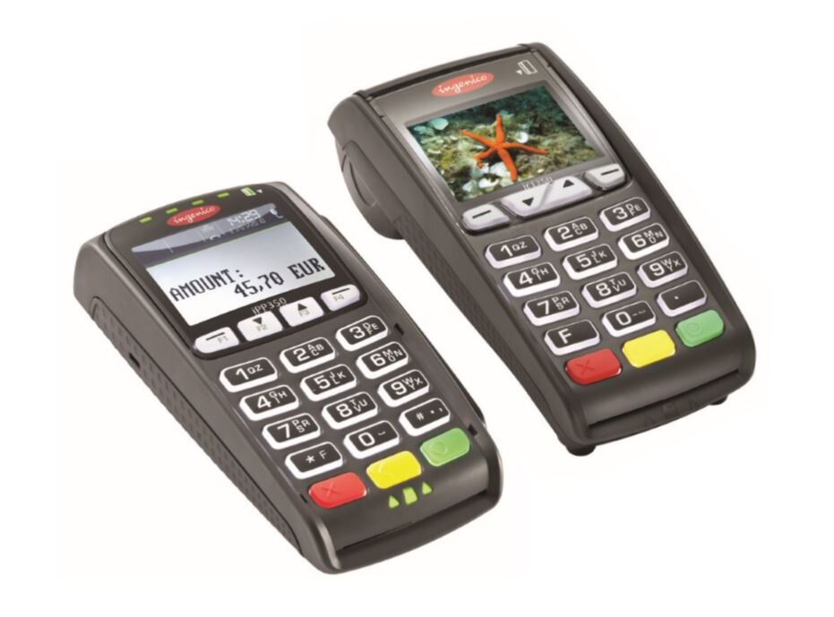ICT250 + Pinpad - A step up for retail shops, The terminal talks to the Pin Pad and uses Ethernet or PTSN.