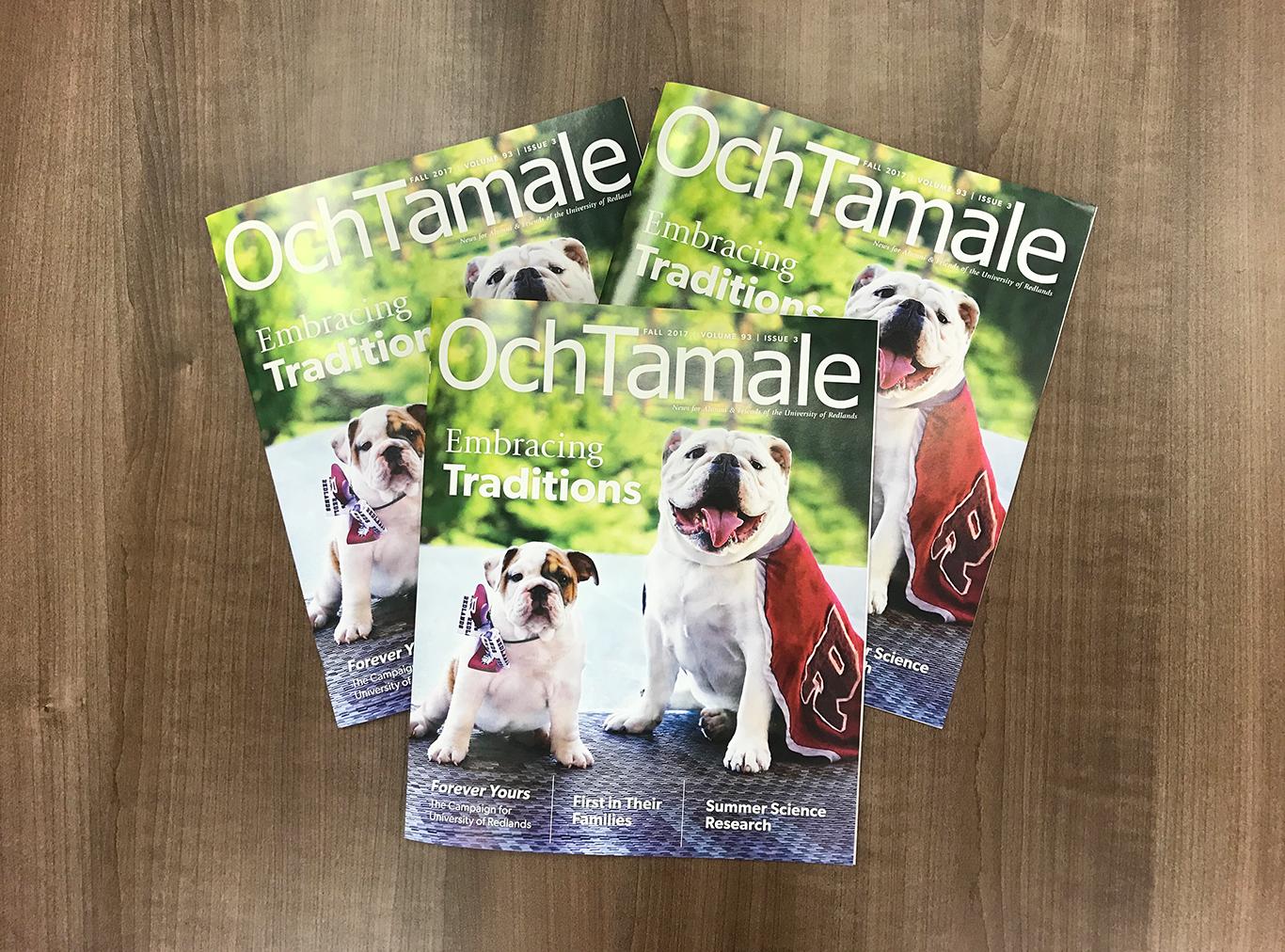 Och Tamale magazine, Fall 2017 edition