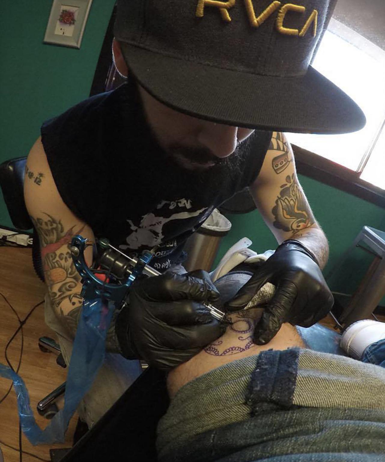 Tattoo Artist Danbury CT