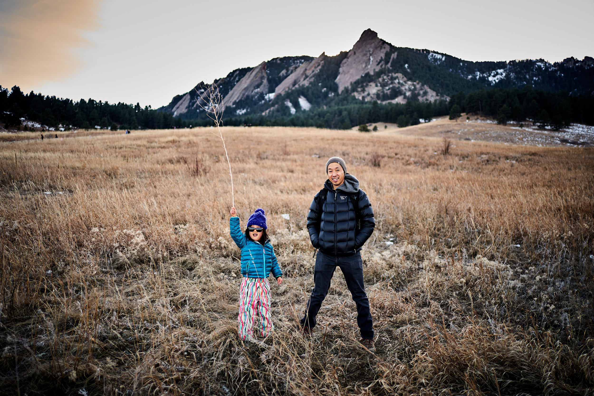 My little lady, Carys, and I in Colorado last Christmas holiday.