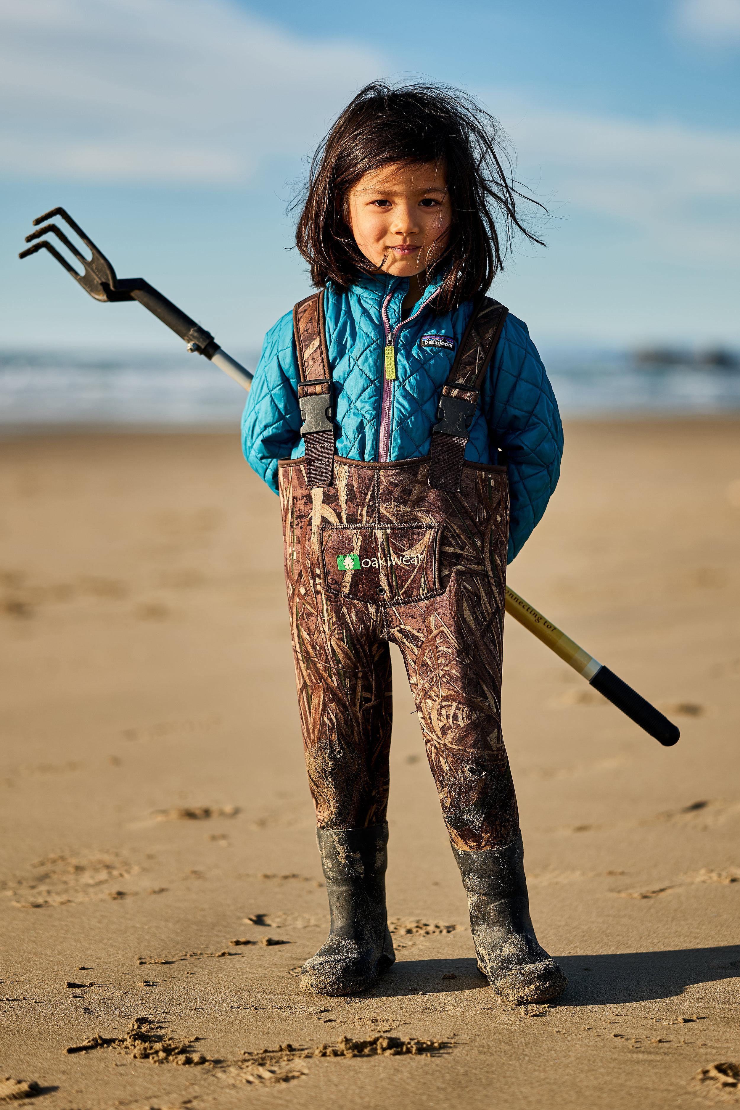 And a beach artist.