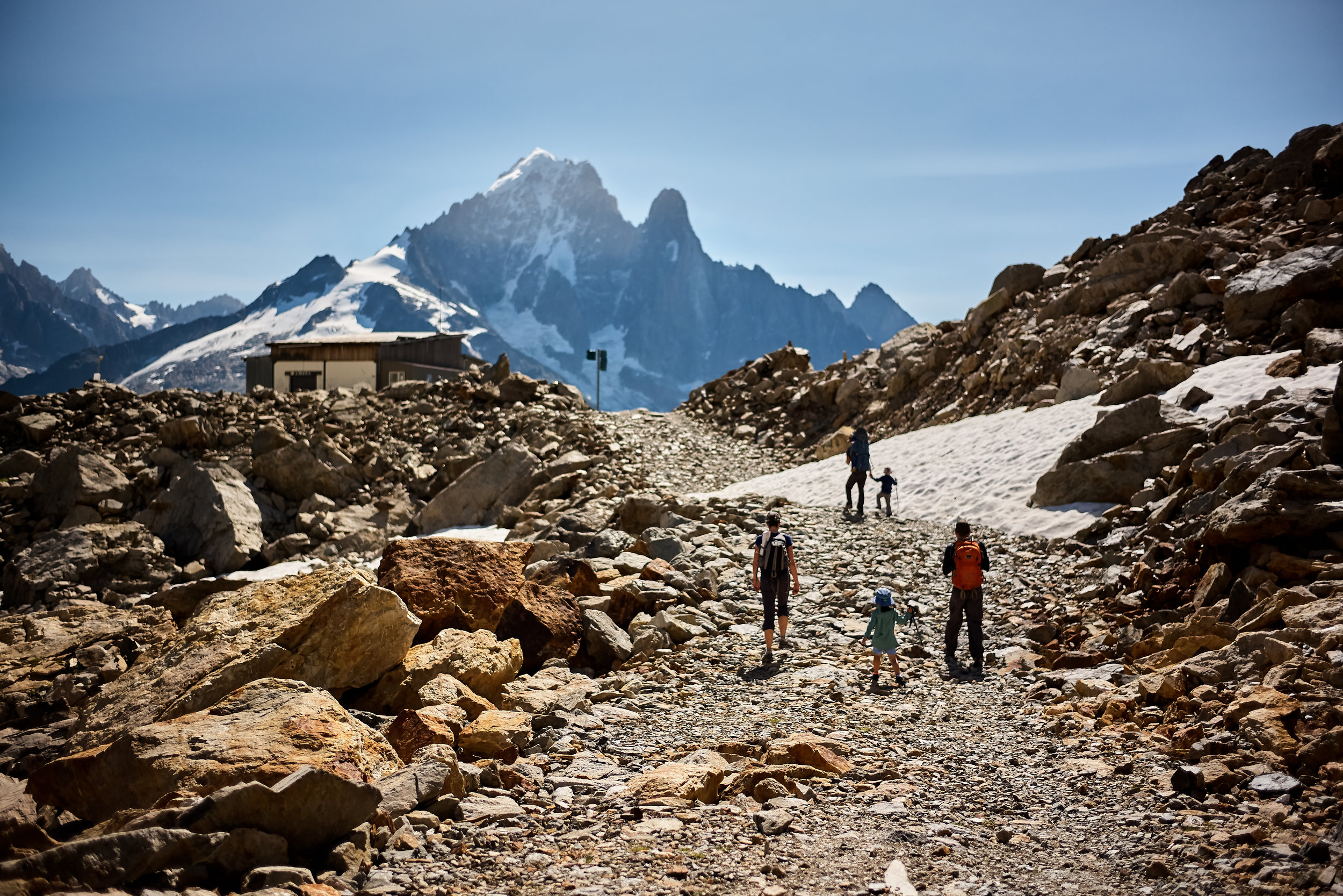 adventure above chamonix -