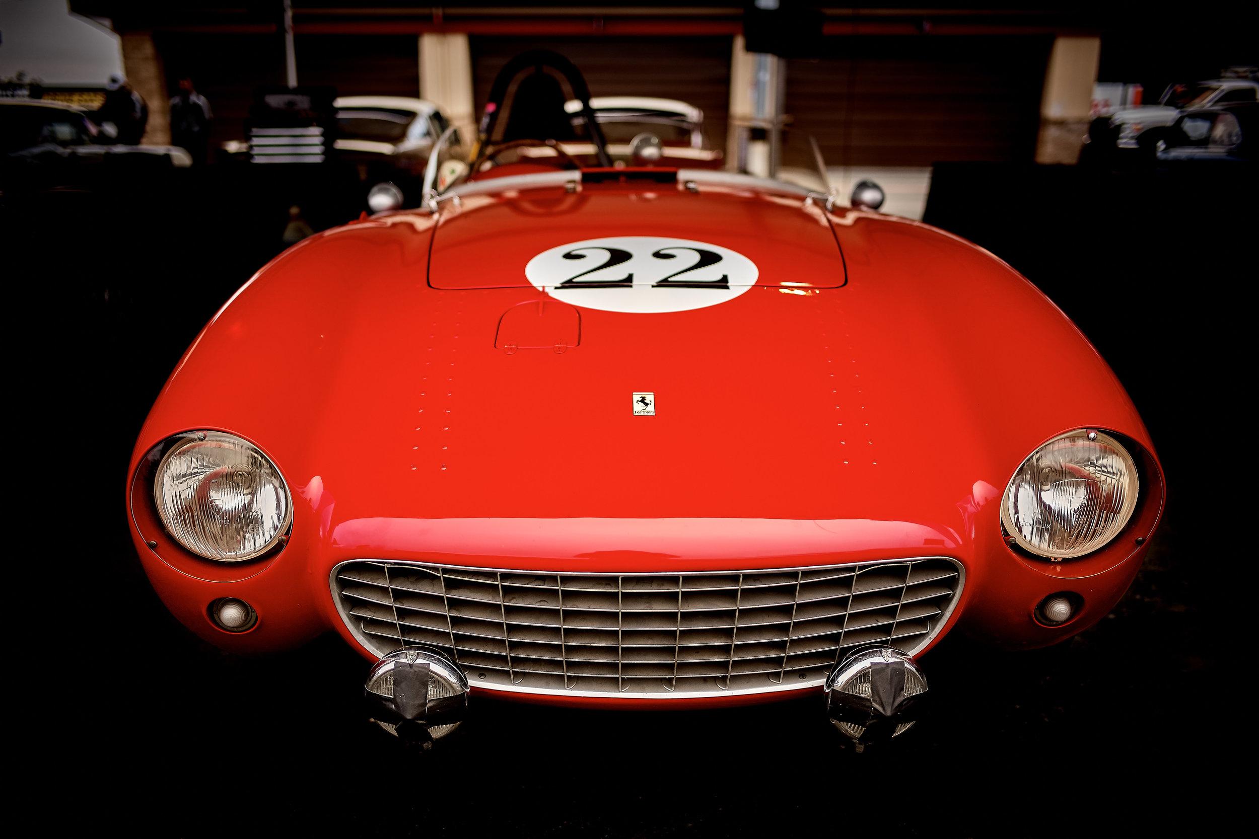 1954 Ferrari 500 Mondial / Jeff Abramson