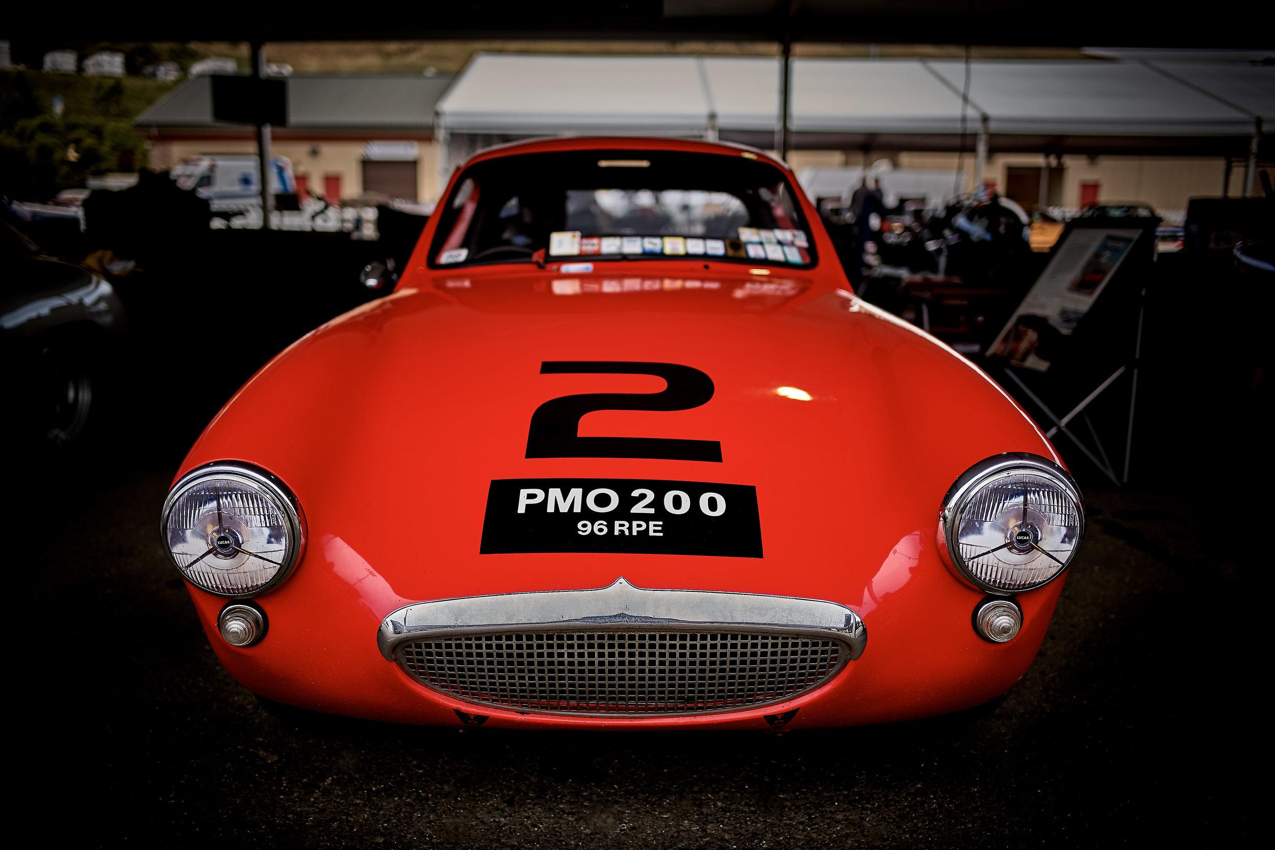 1960 Austin Healey Sebring Sprite / Terry Cowan