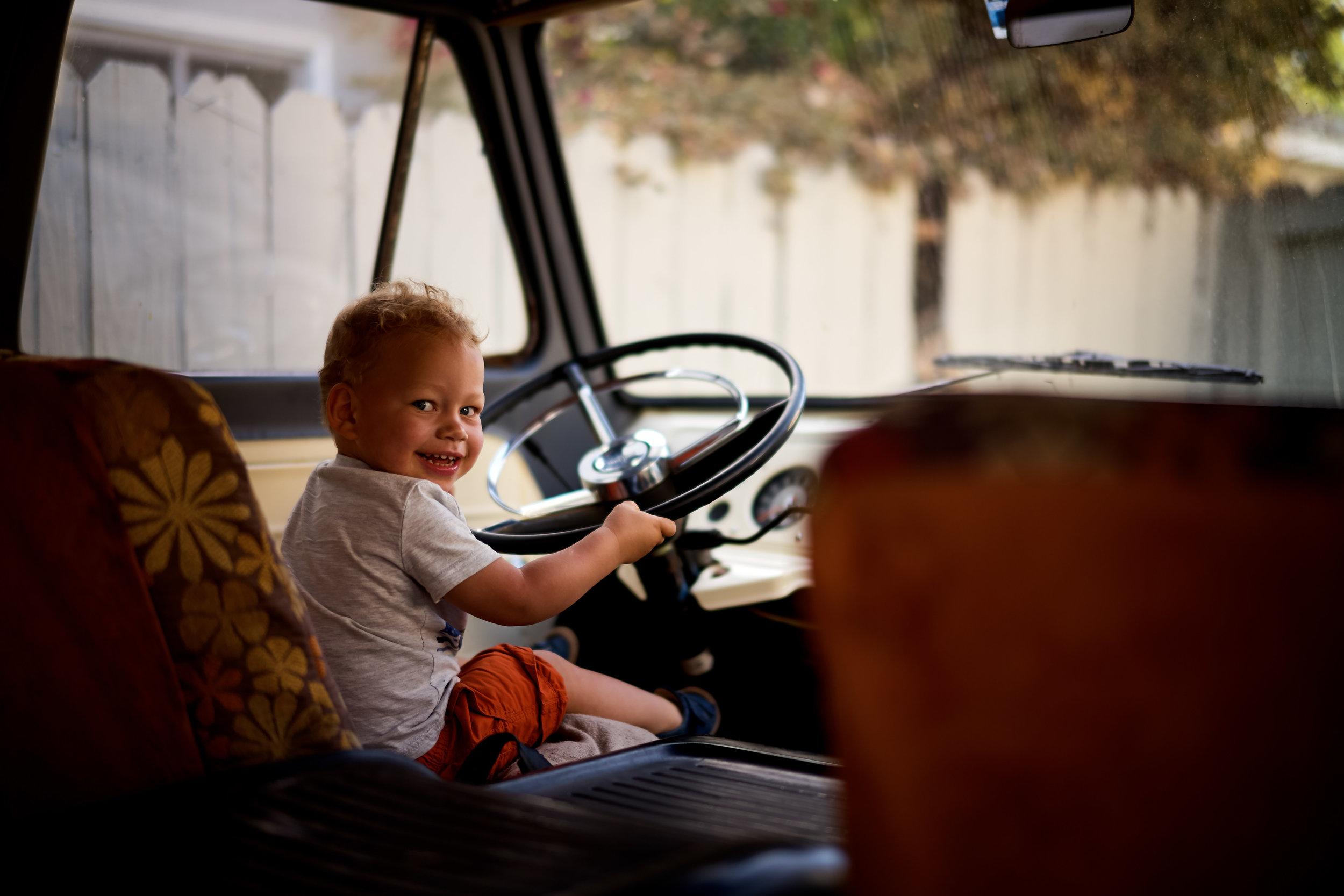 A Boy&A Van -