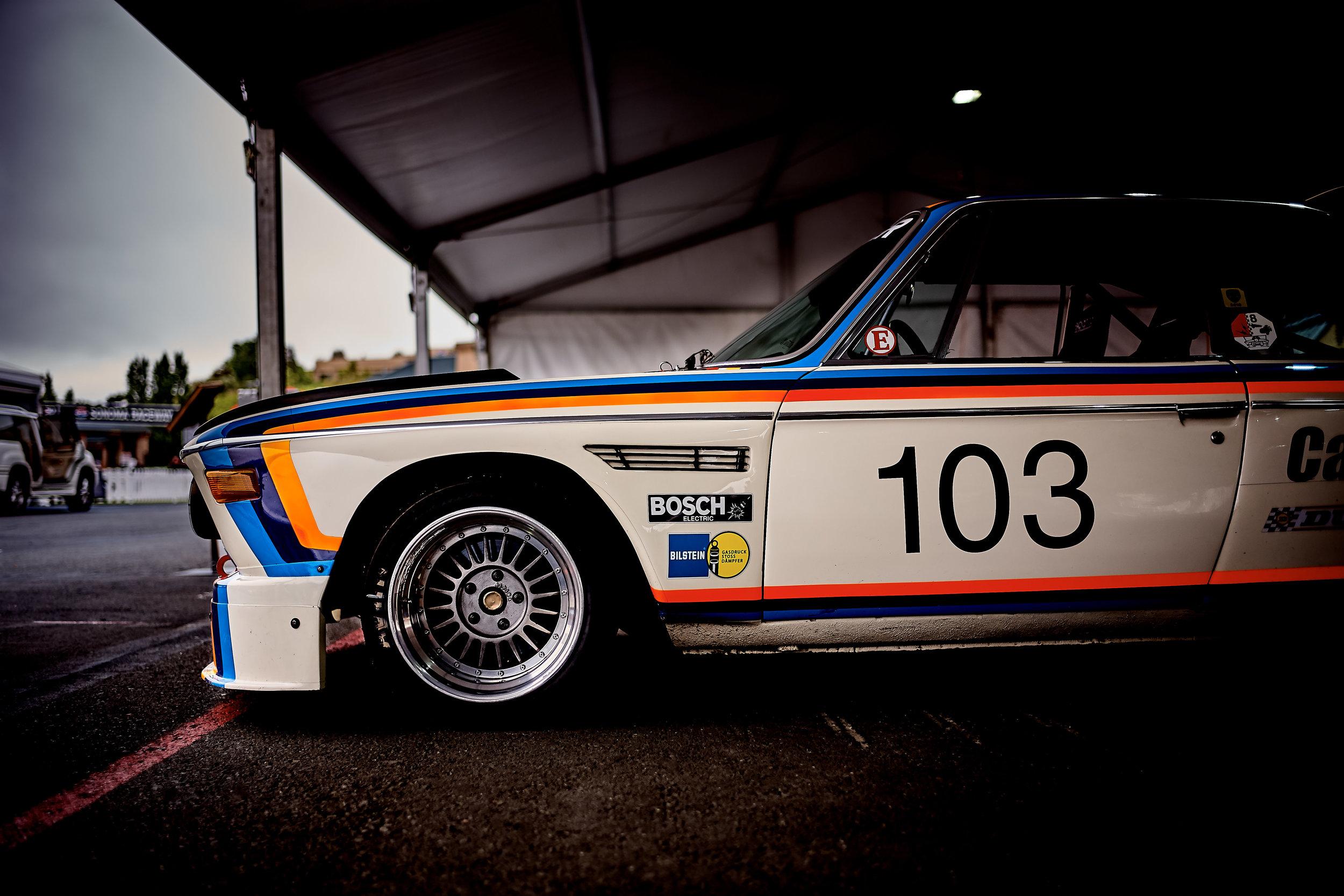 1974 BMW 3.5 CSL / Thor Johnson