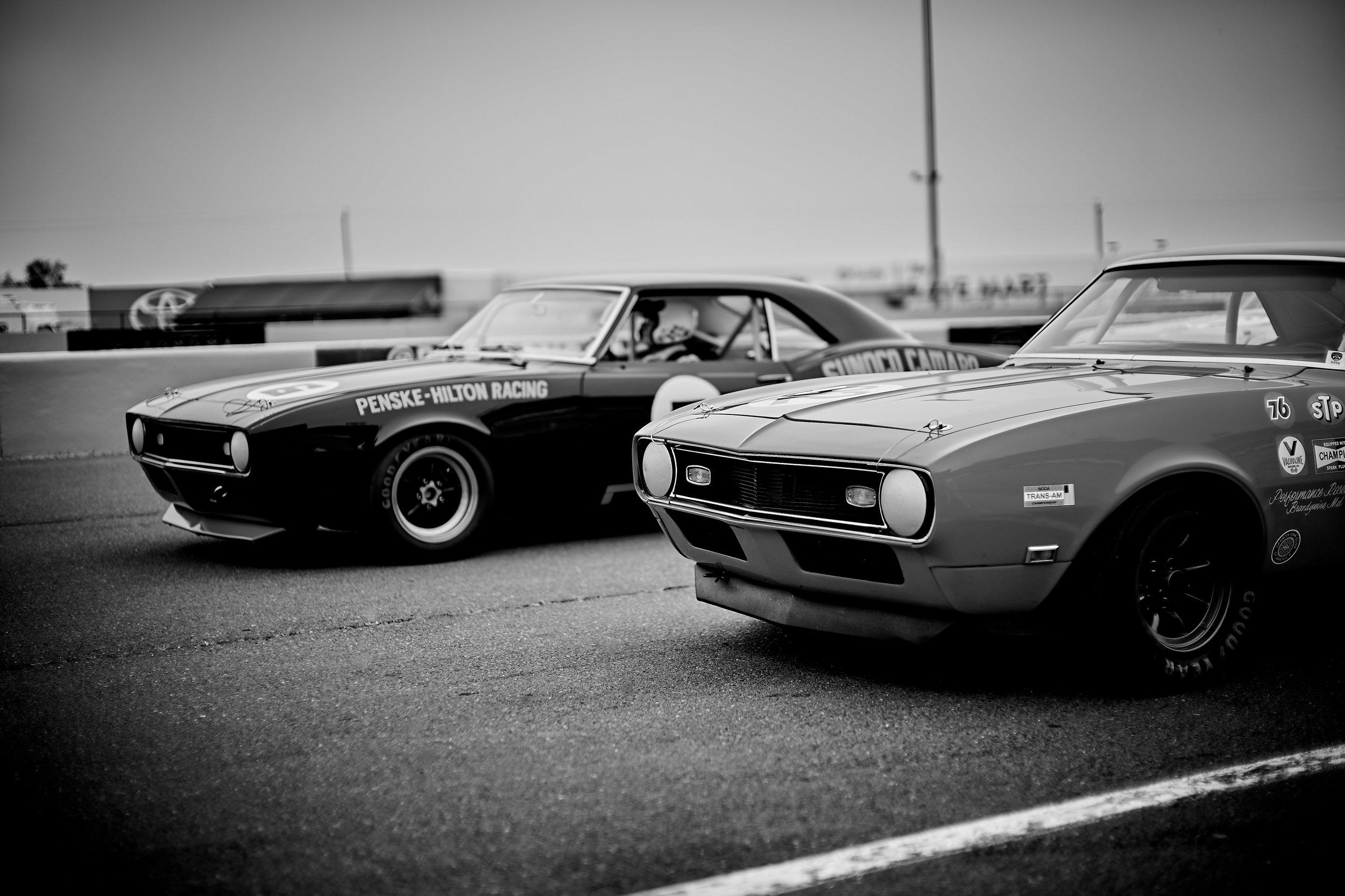 1968 Chevrolet Camaro / Tom McIntyre (top) &  1968 Chevrolet Camaro / Daniel Goldsmith (bottom)