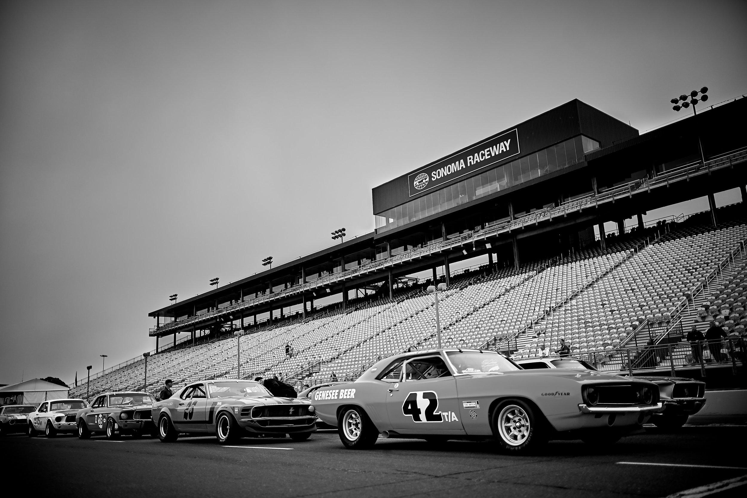 1969 Chevrolet Z28 (Car #42) [Race Group Practice Session, 1966-1972 Historic Trans-Am Cars]