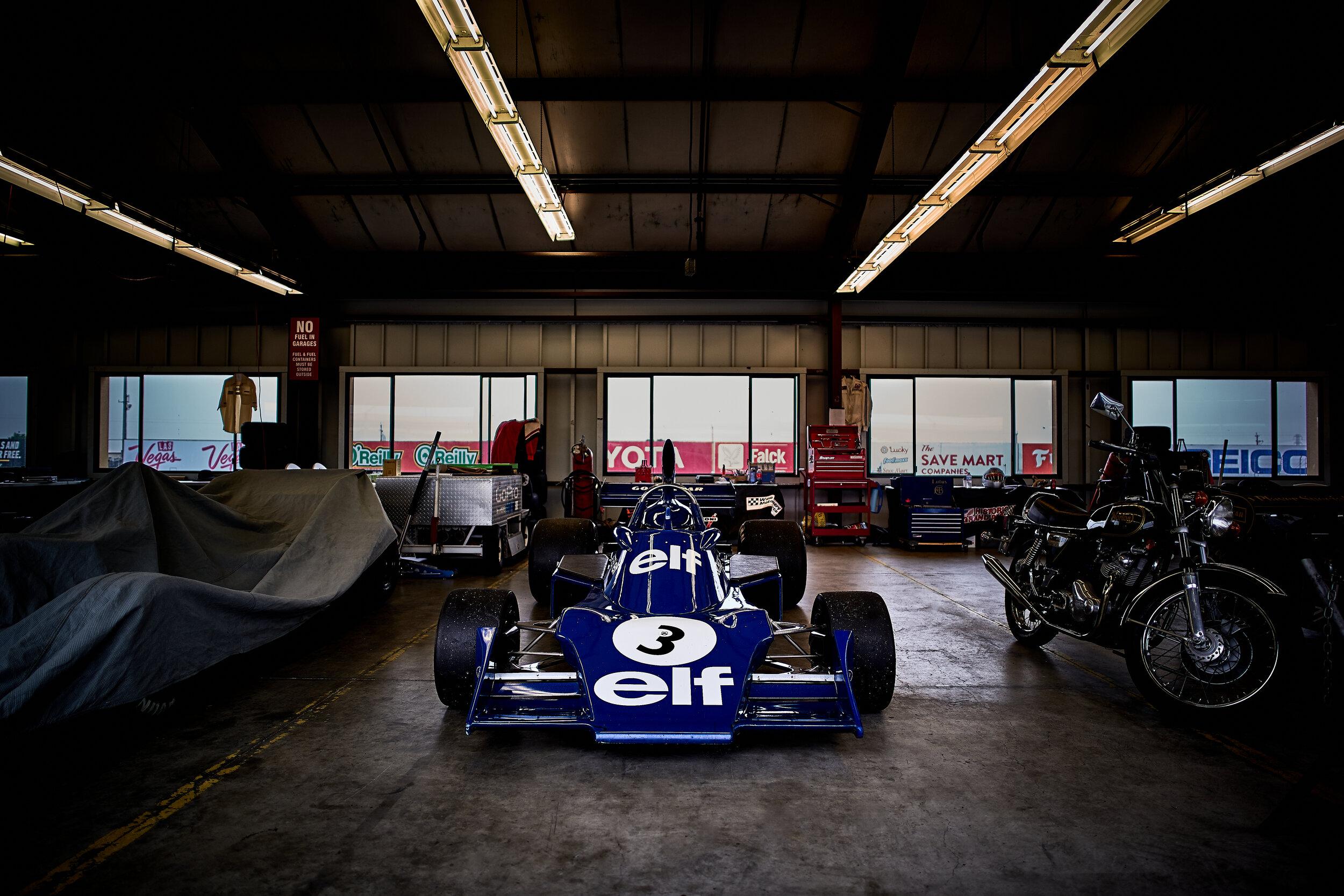 1974 Tyrrell 007 / Nicholas Colyvas