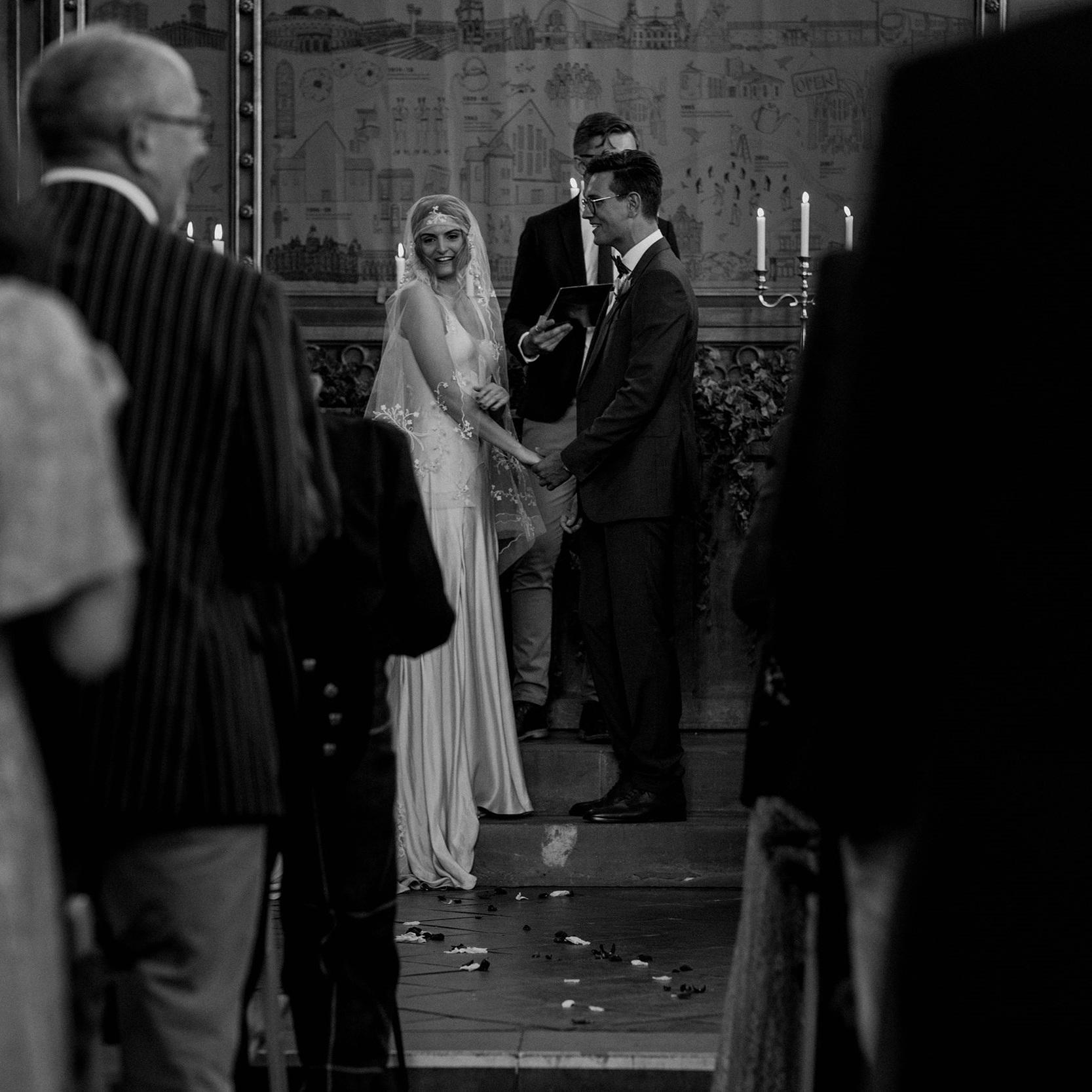 The Classic English Wedding. -