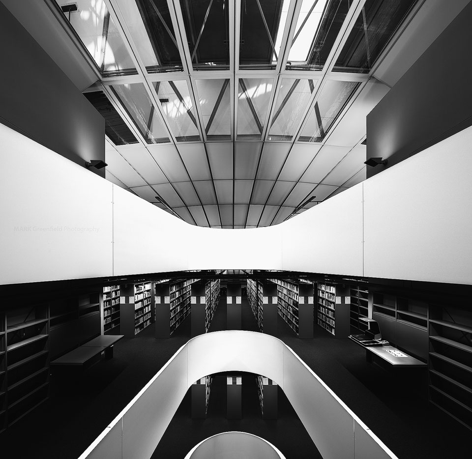 Philological Library at Freie University at Berlin  Canon 5DS, TS-E17mm, 17mm, 0.5 seconds, F/11, Iso 100