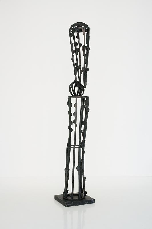 Joel Perlman Sculpture - Black Tower.jpg