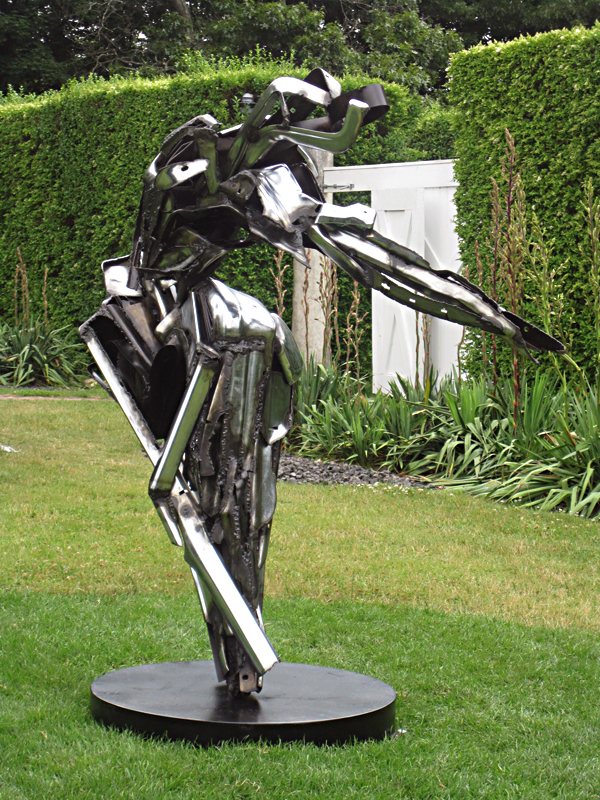 Isobel Folb Sokolow Sculpture - Dancer II - Art Hamptons 2011.jpg