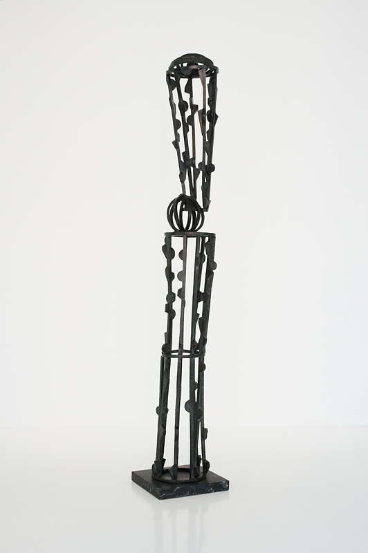 Joel Perlman Sculpture - Black Tower.jpg