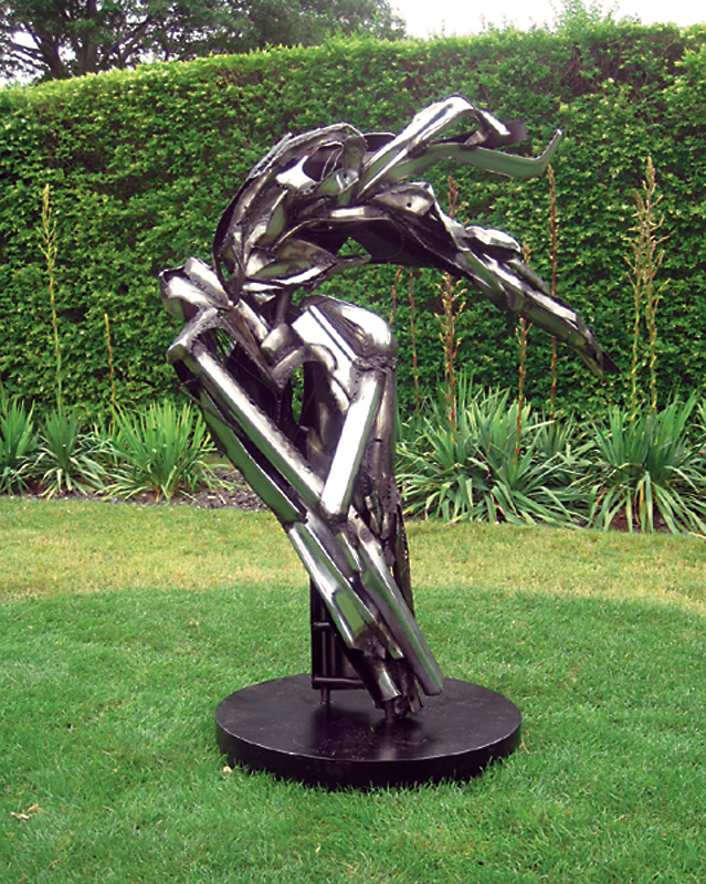 Isobel Folb Sokolow Sculpture - Dancer II - Art Hamptons 2011-2.jpg