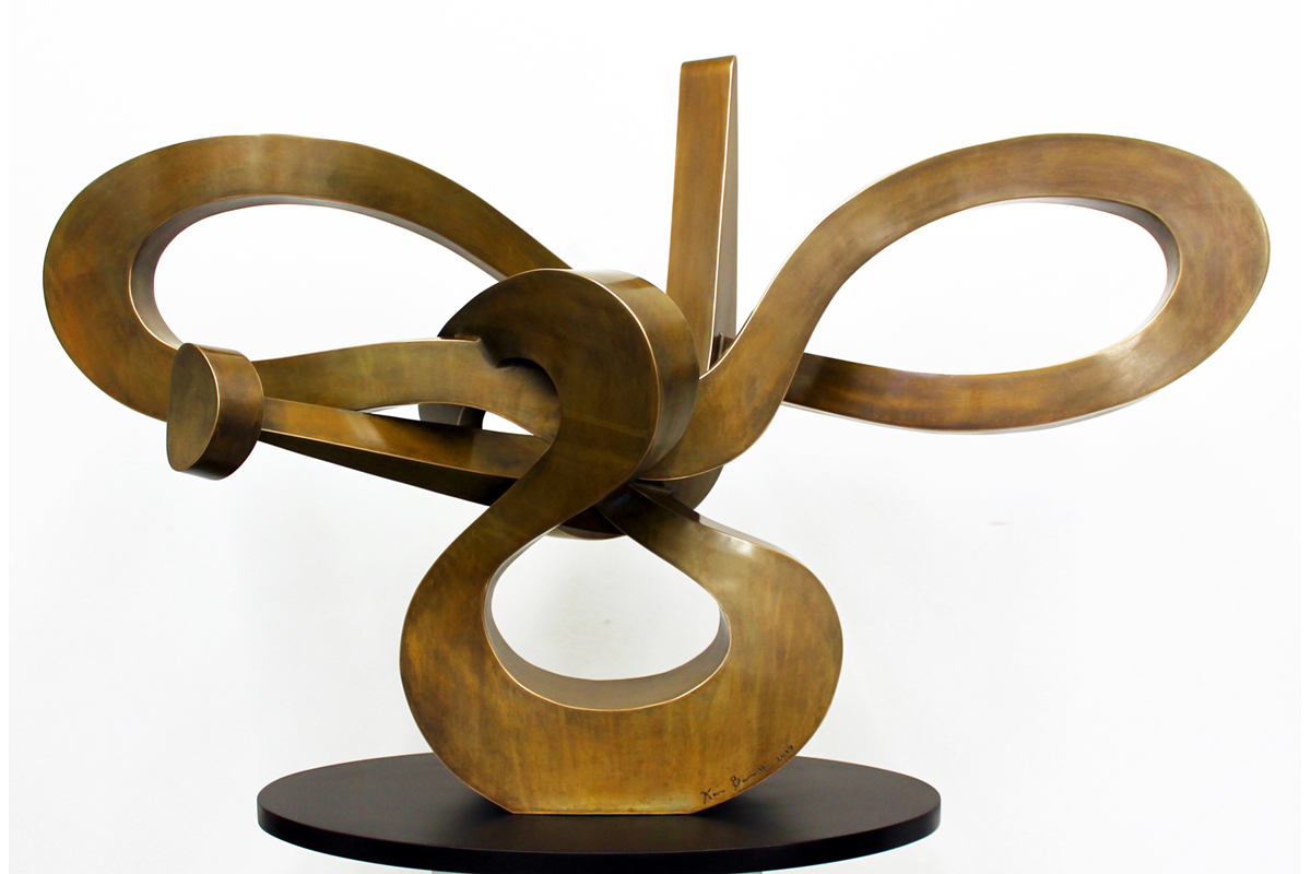 Kevin Barrett Sculpture - Infinite - front view.jpg