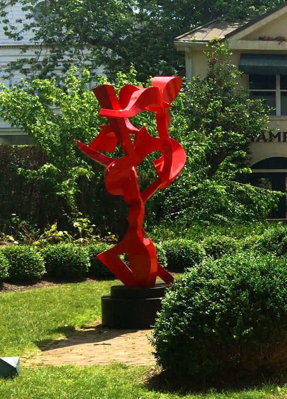 Kevin Barrett Sculpture - Navigator - White Room Gallery - front.jpg