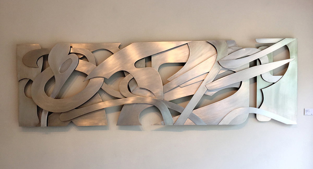 Kevin Barrett Sculpture - Velocity - White Room Gallery 2016.jpg