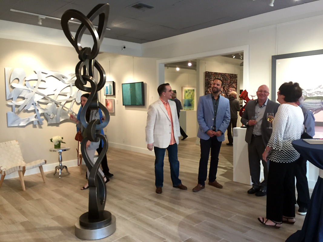 Kevin Barrett Sculpture - Groove - Quidley Gallery.jpg