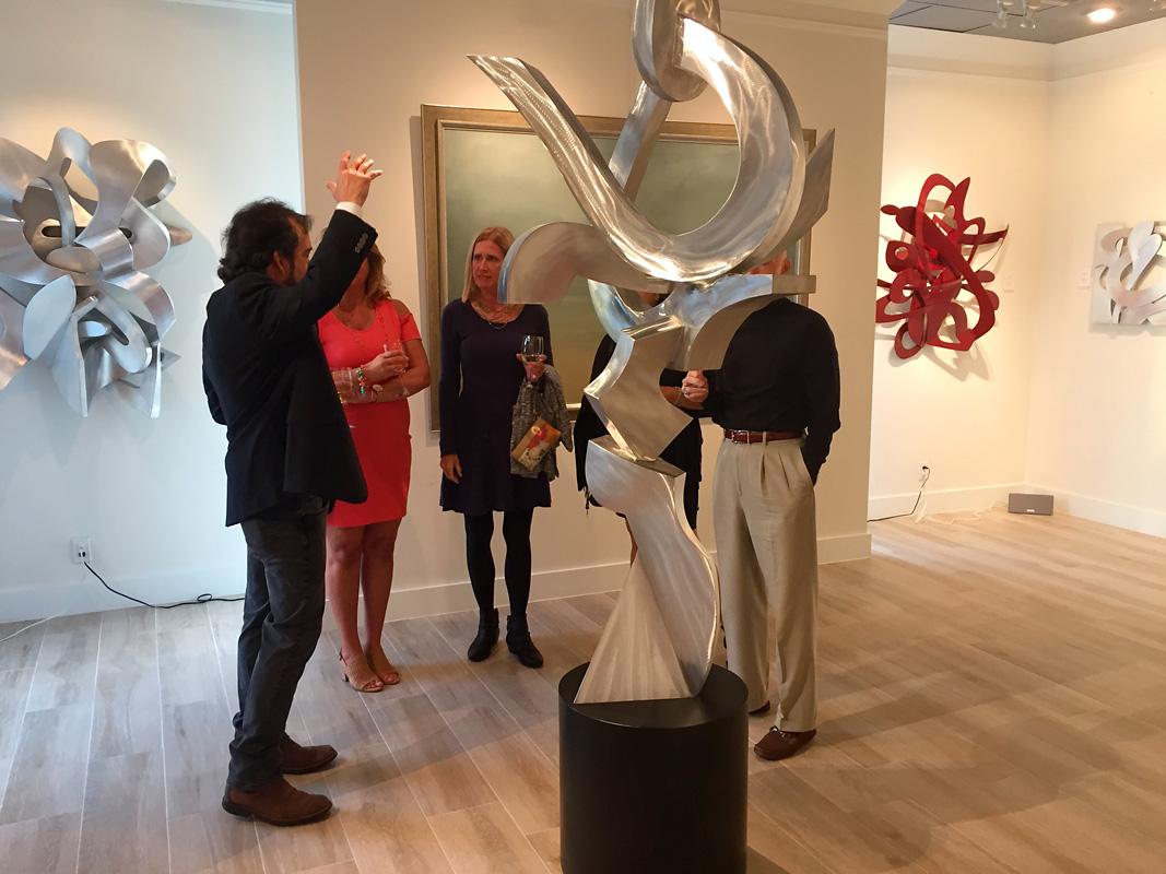 Kevin Barrett Sculpture - Ignite - Quidley Gallery.jpg