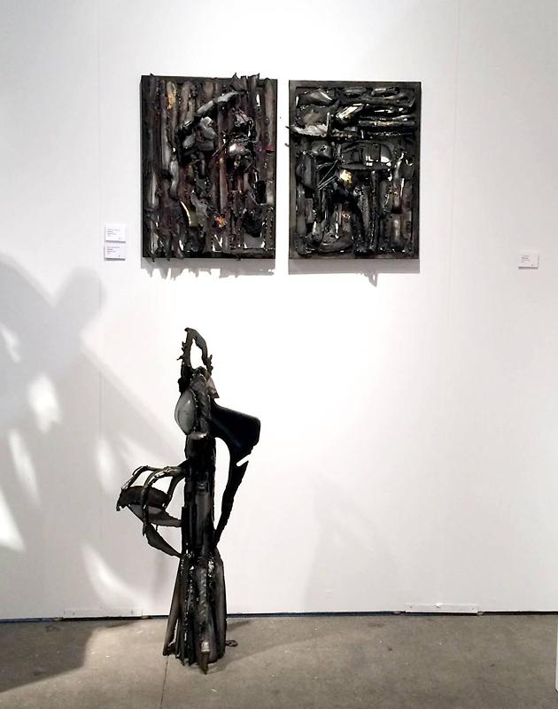 Isobel Folb Sokolow Sculpture - Cosmos I-II - Queen Bee.jpg