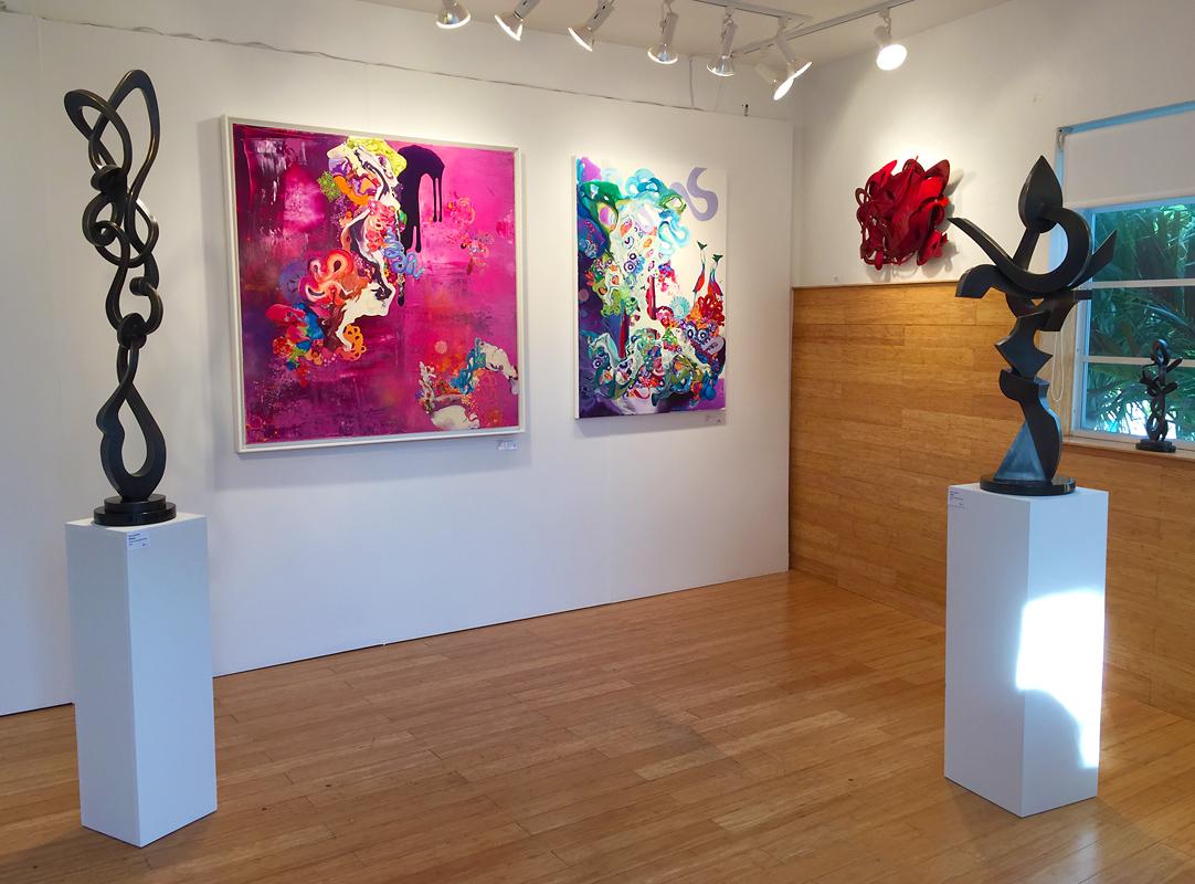 C FINE ART - Kevin Barrett Bronzes at Aqua Art Miami 2016.jpg